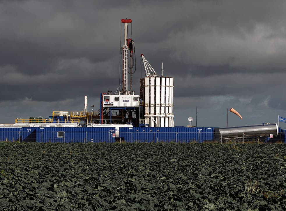 General views of the Cuadrilla shale fracking facility in Preston, Lancashire, pictured here in 2012
