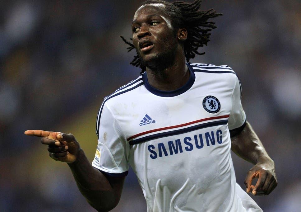 a0eb05c7d Romelu Lukaku celebrates a goal in Chelsea's 4-1 win over a Malaysia XI