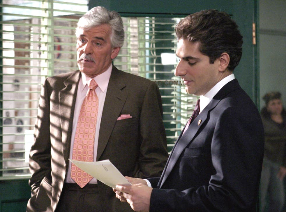 Farina will probably be best known as Detective Joe Fontana in 'Law & Order'