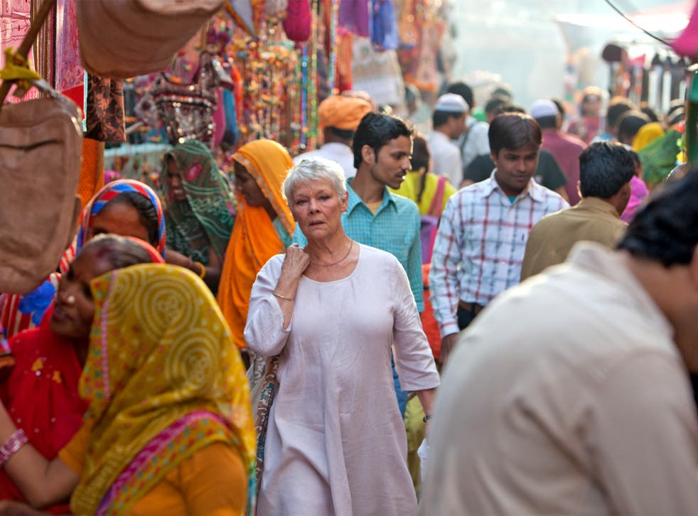 Old favourite: Judi Dench in 'The Best Exotic Marigold Hotel'