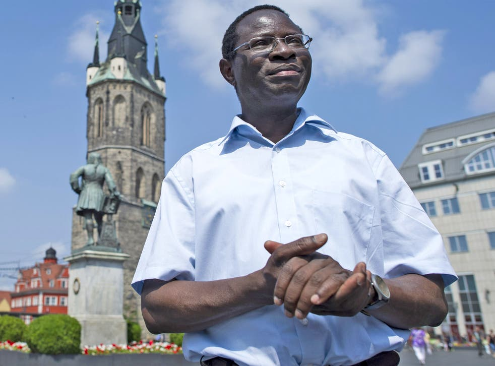 Mr Diaby's ascent in German politics seems like material taken from a Hollywood film script