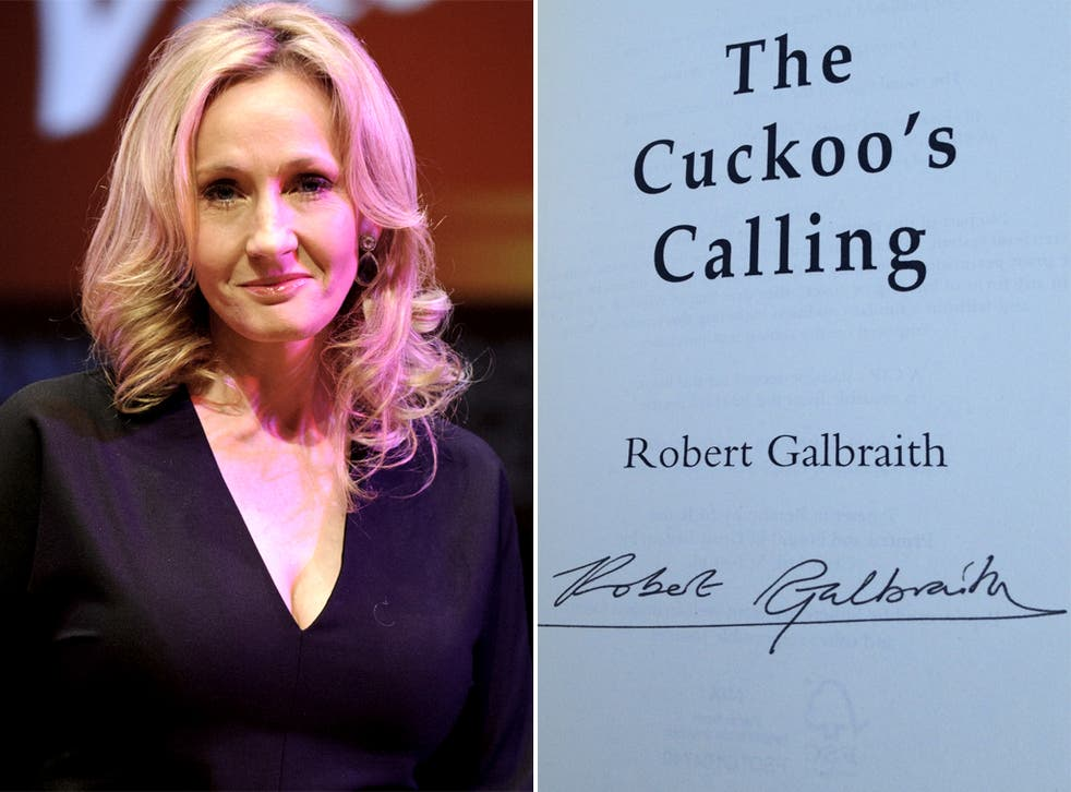 JK Rowling said Robert Galbraith was doing just fine on his own