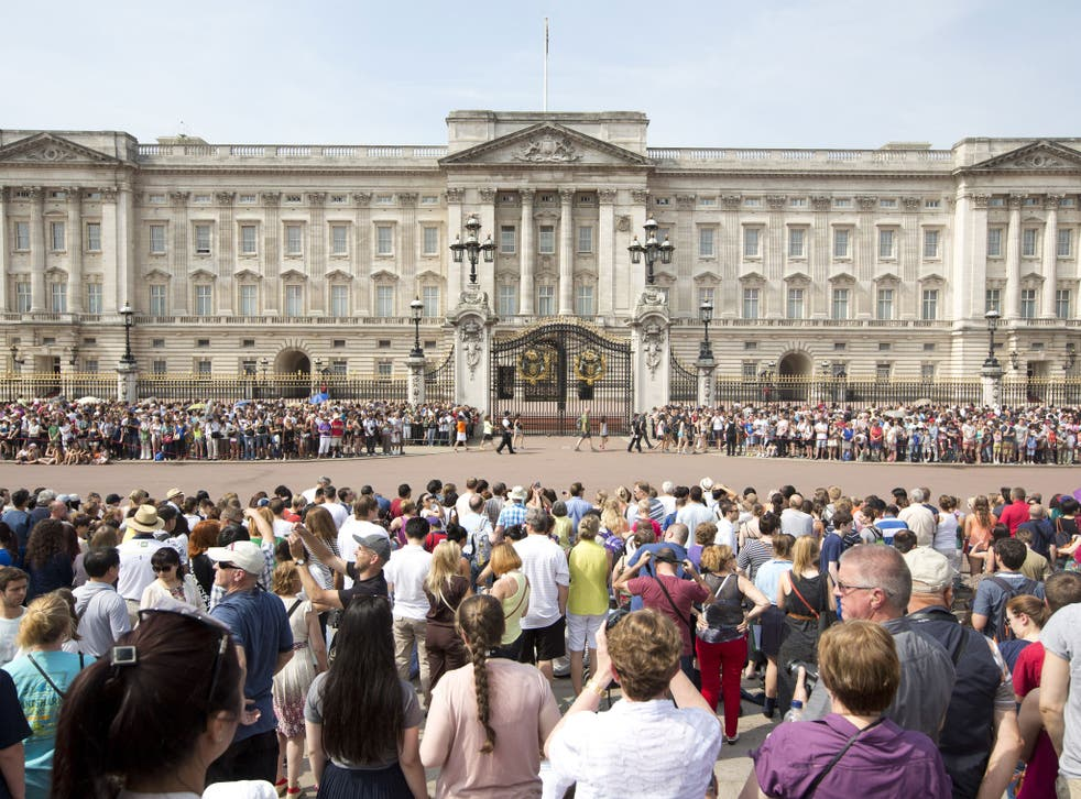Buckingham Palace has just opened for summer visits but staff will be working on zero-hours contracts