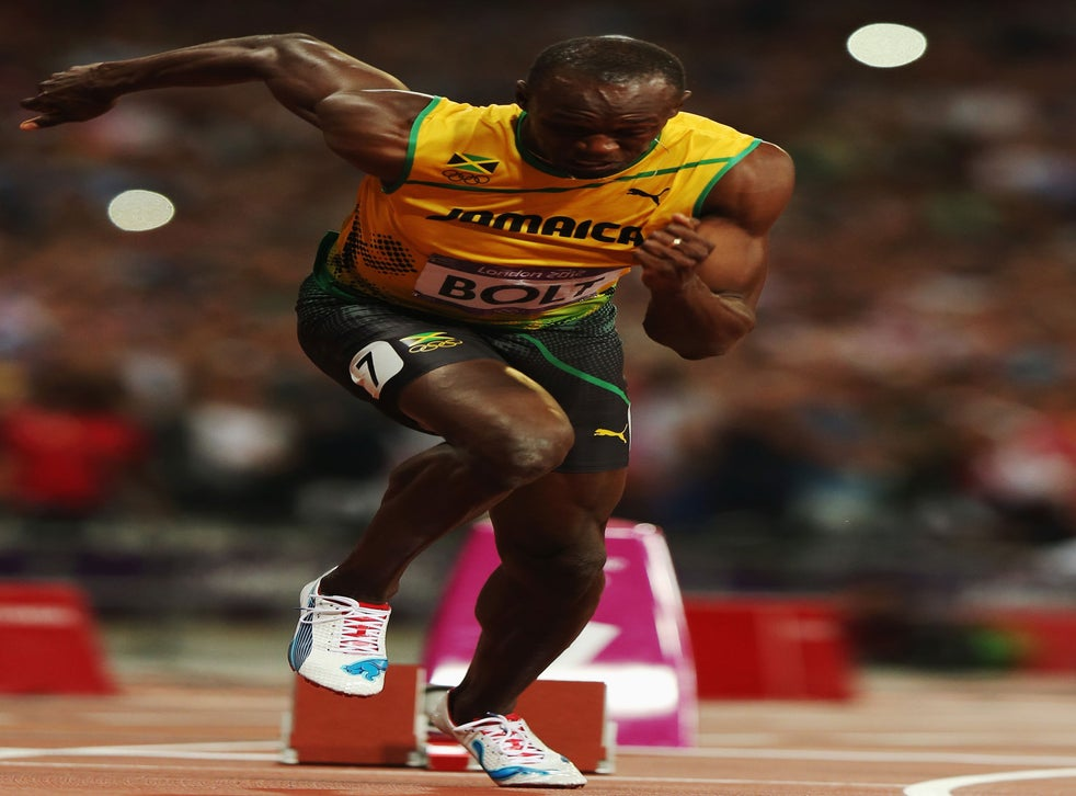 Revealed The Science Behind Usain Bolt Power Burst Used To The 100m World Record The Independent The Independent