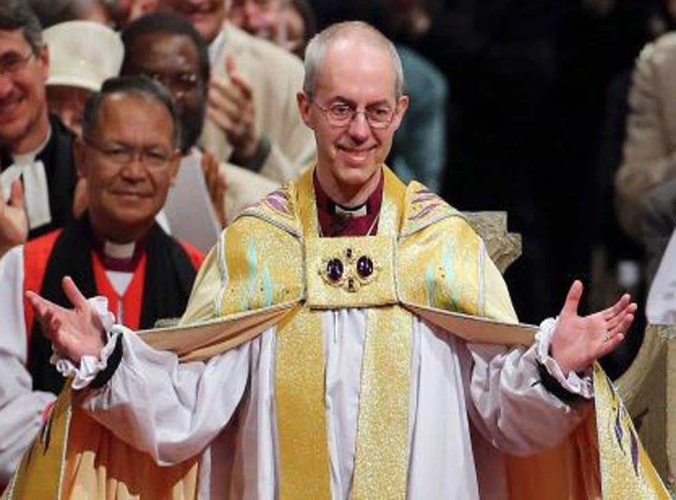 Archbishop Welby is said to be furious at the revelations