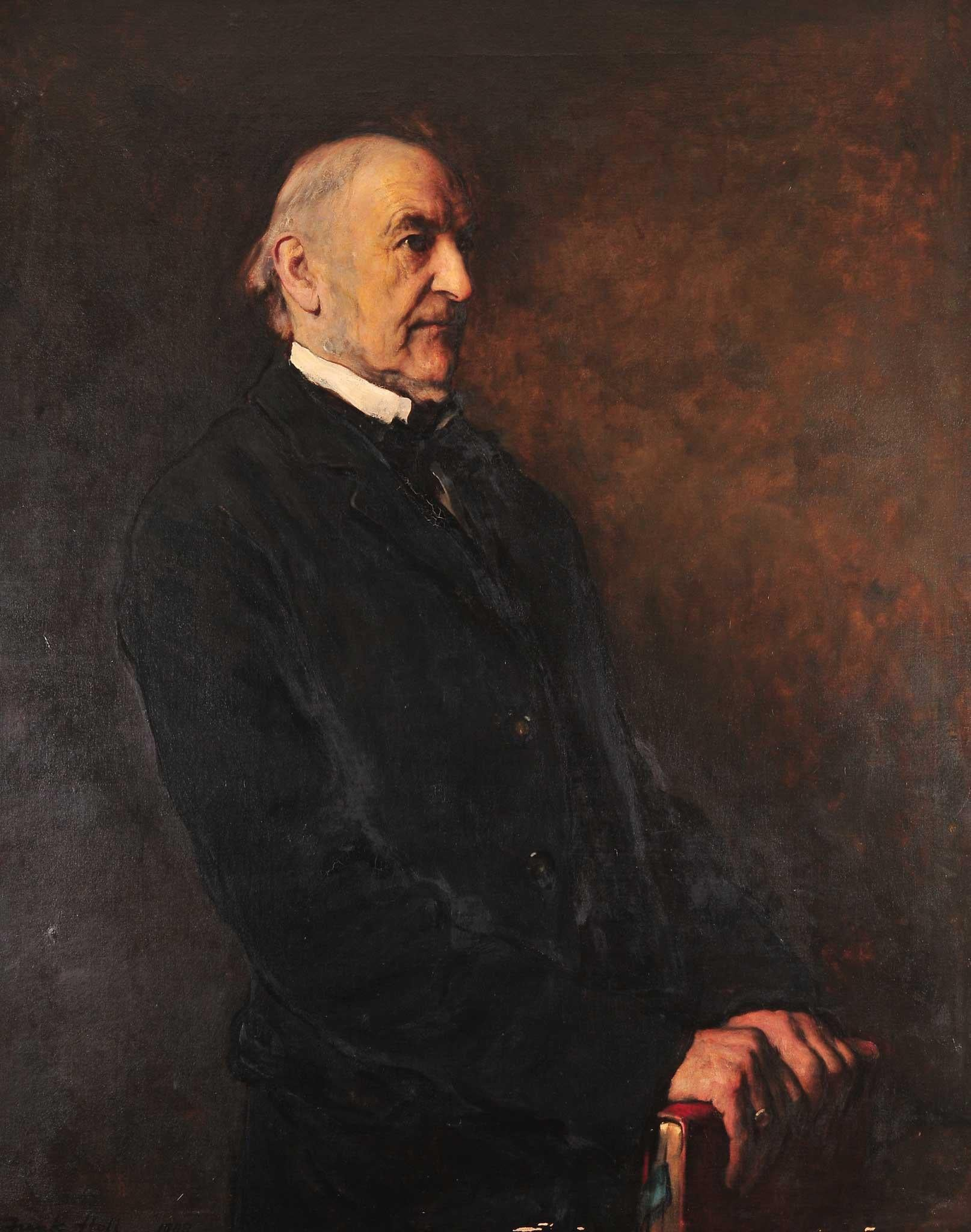Great works william ewart gladstone 1887 8 by frank holl the great works william ewart gladstone 1887 8 by frank holl the independent sciox Choice Image