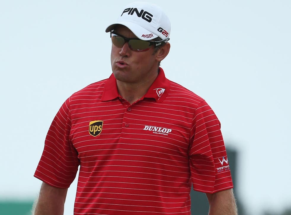 Lee Westwood will seek advice from three golfing experts