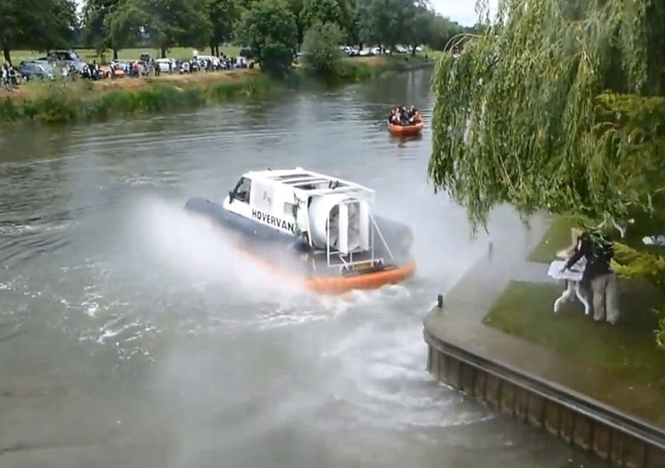 Top Gear in new controversy over faked hovercraft scenes on
