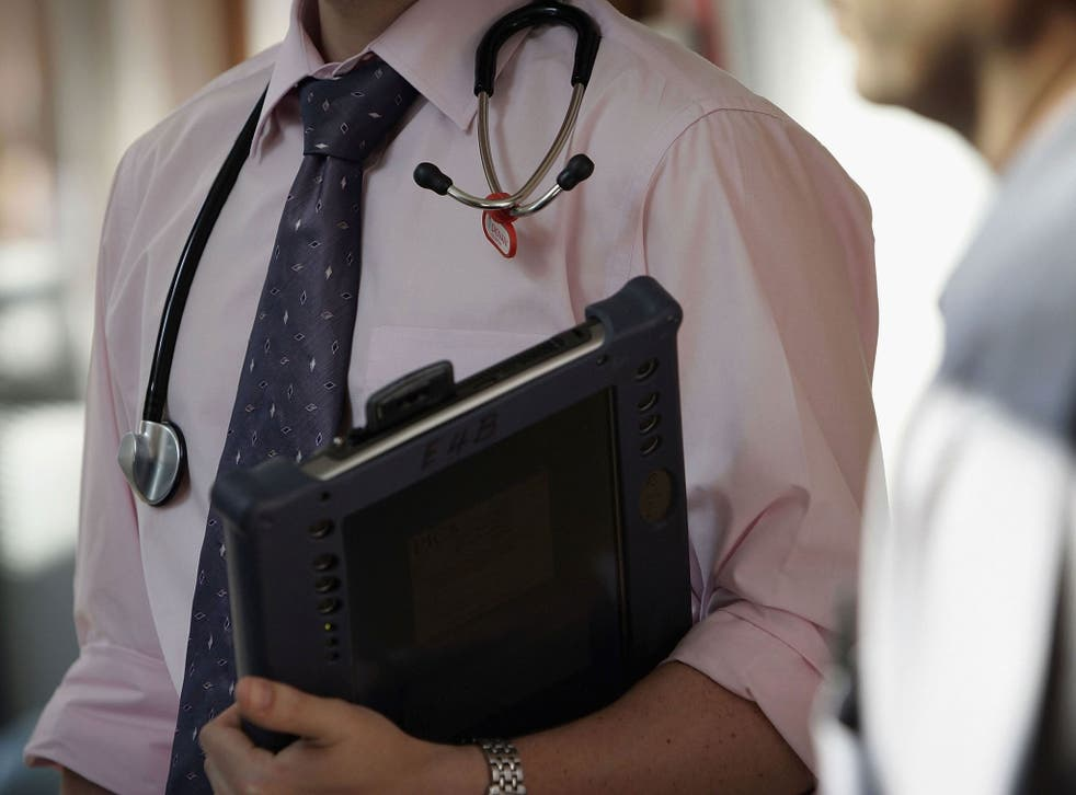 Sir Bruce wants to put young doctors into leading roles