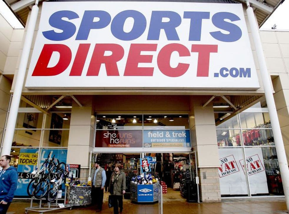 Sports Direct employs 20,000 people, 90% of its workforce, on a 'casual' basis