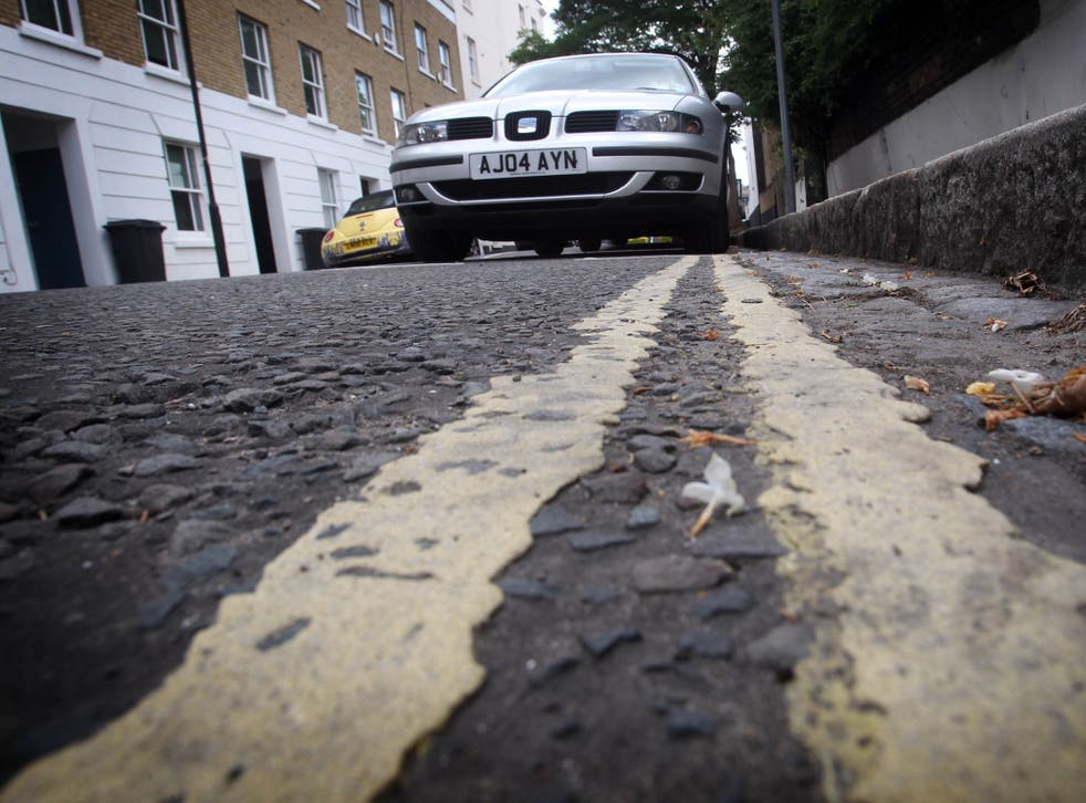 Eliminating double yellow lines is intended to help rejuvenate Britain's high streets
