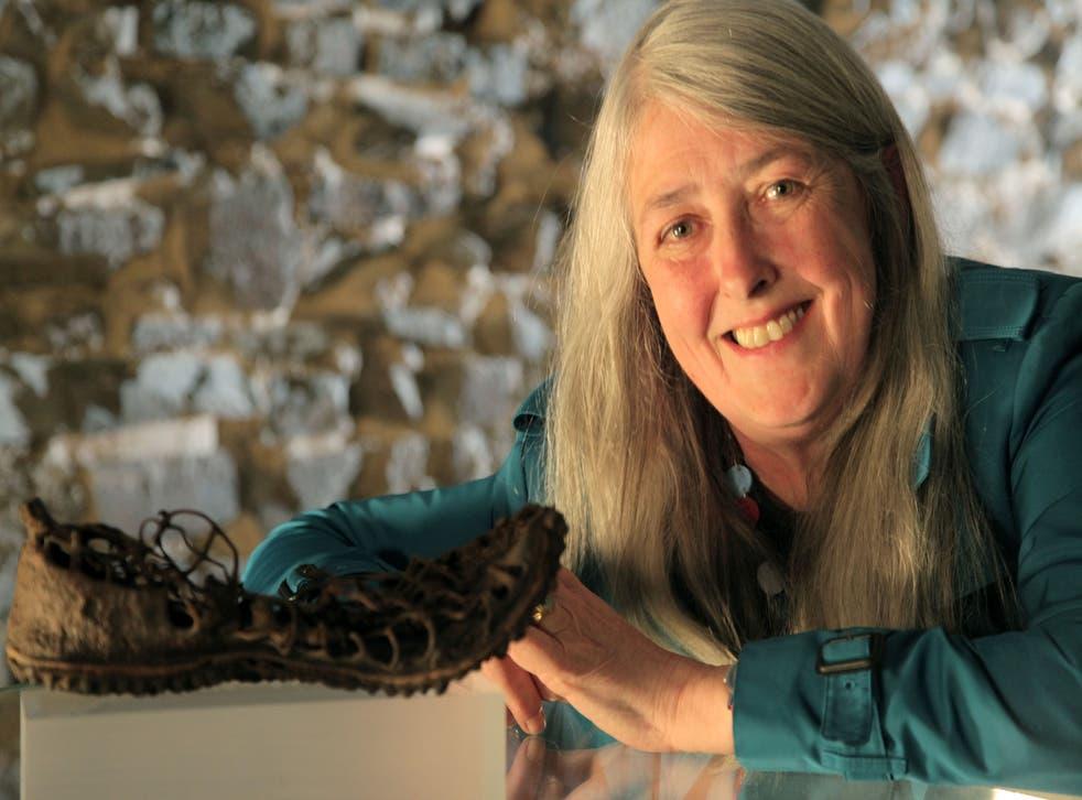 Mary Beard in her BBC 2 programme Caligula