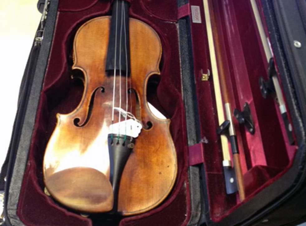 Rare 1696 Stradivarius violin worth £1.2m has finally been found by police