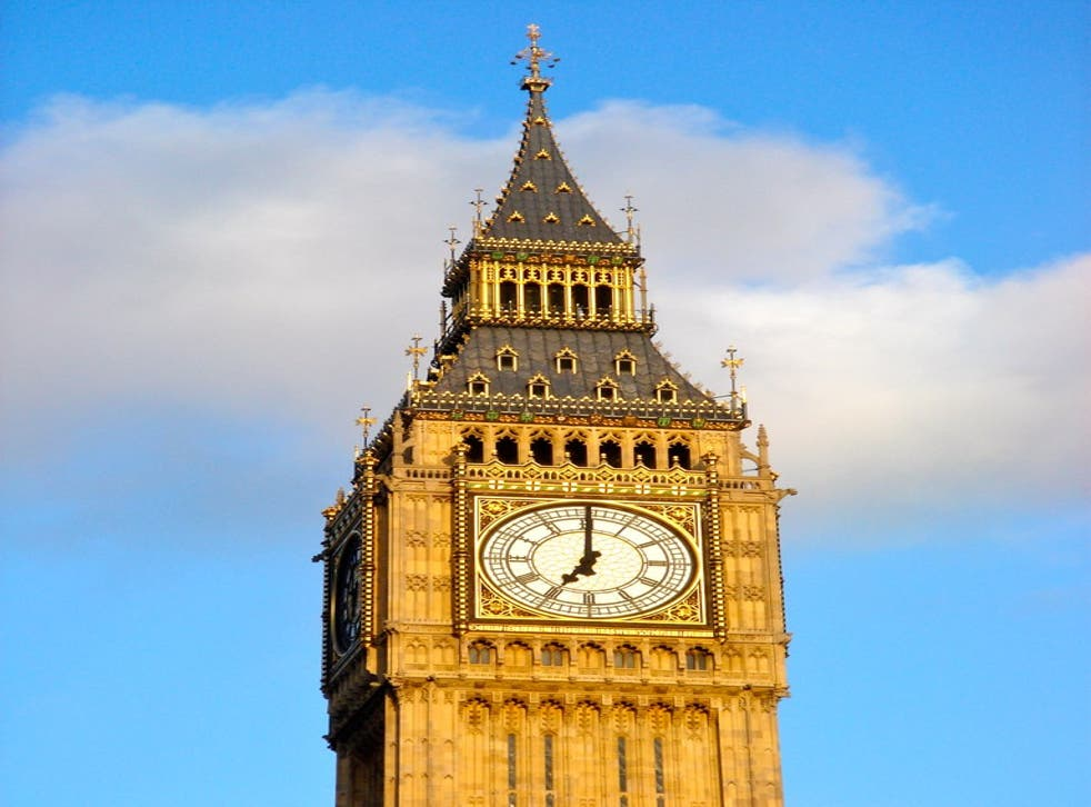 Big Ben is a landmark familiar to all MPs