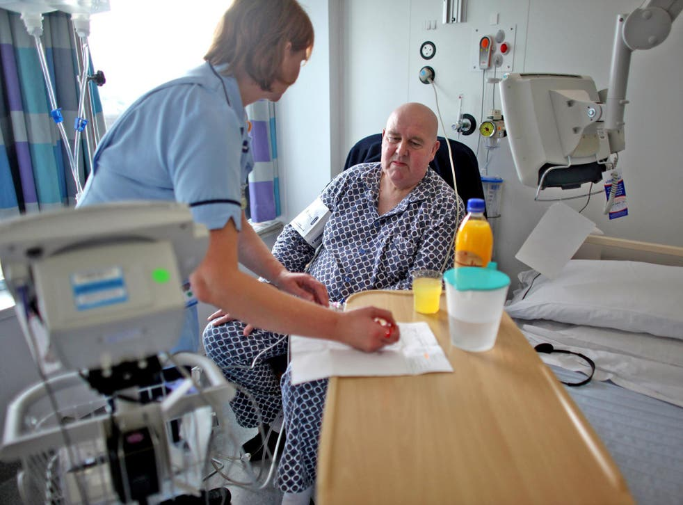 Of 4,500 wards across England, patients who were treated in 36 wards would be unhappy to send their loved ones to receive the same care