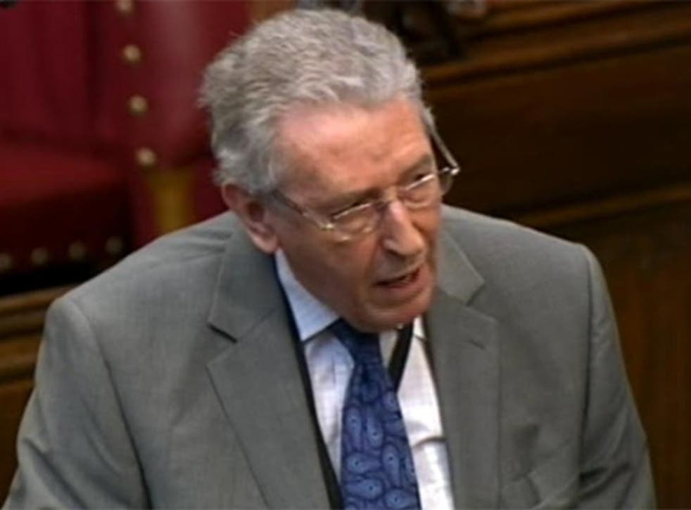 Lord Howell:  'There are large, uninhabited and desolate areas, certainly in parts of the North East, where there is plenty of room for fracking'