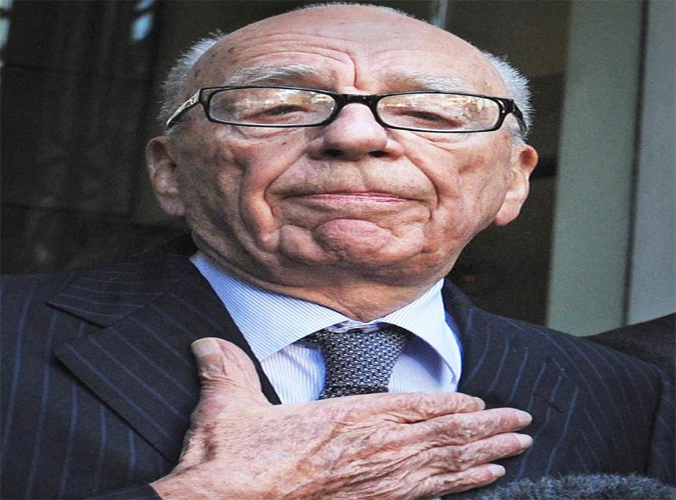 Rupert Murdoch is trusted on press regulation by only 15 per cent of Sun readers