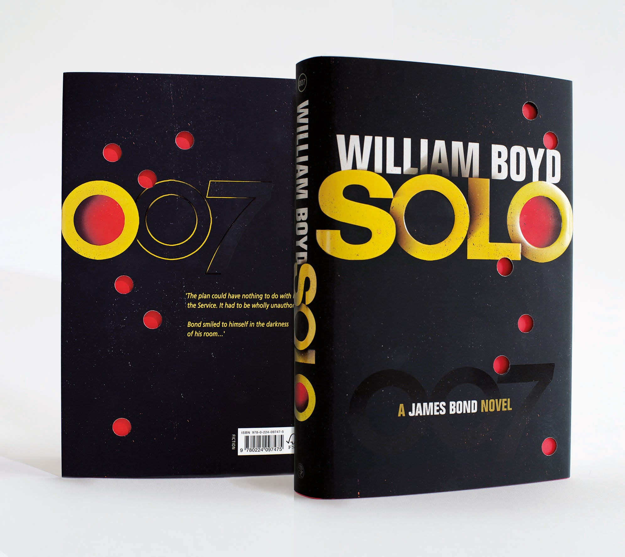 Die Cut Book Cover Design : First look cover for new james bond novel solo the