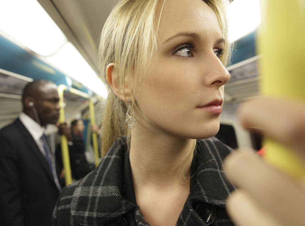 More than eight per cent of UK adults have photographed attractive strangers on public transport