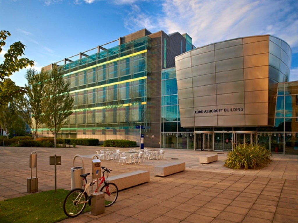 Anglia Ruskin University The Independent