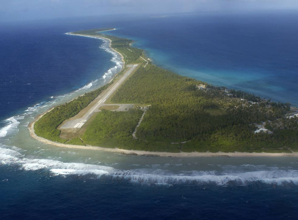 The low-lying coral atolls that make up the Marshall Islands are at risk from climate change