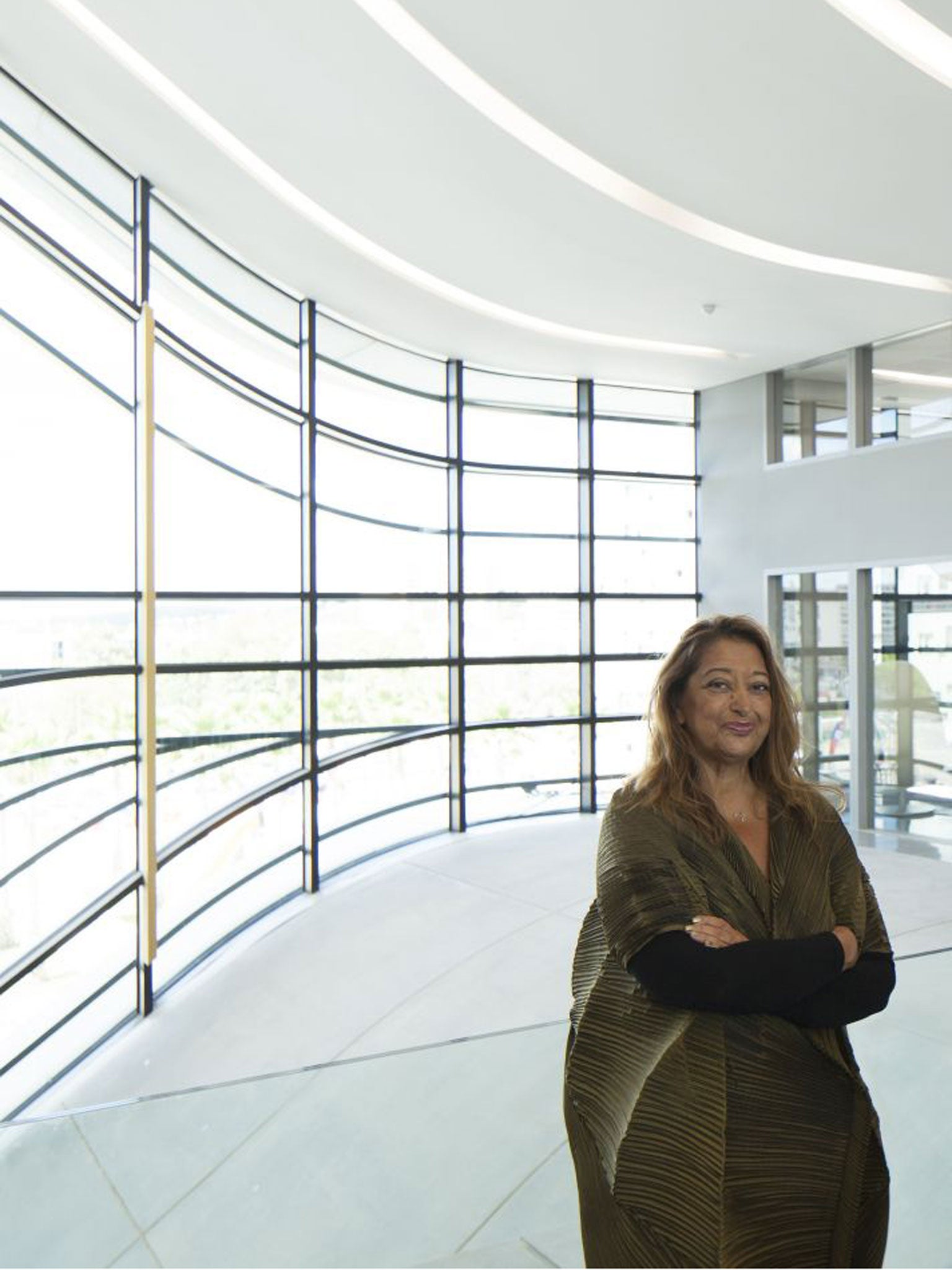 page 3 profile zaha hadid architect the independent. Black Bedroom Furniture Sets. Home Design Ideas