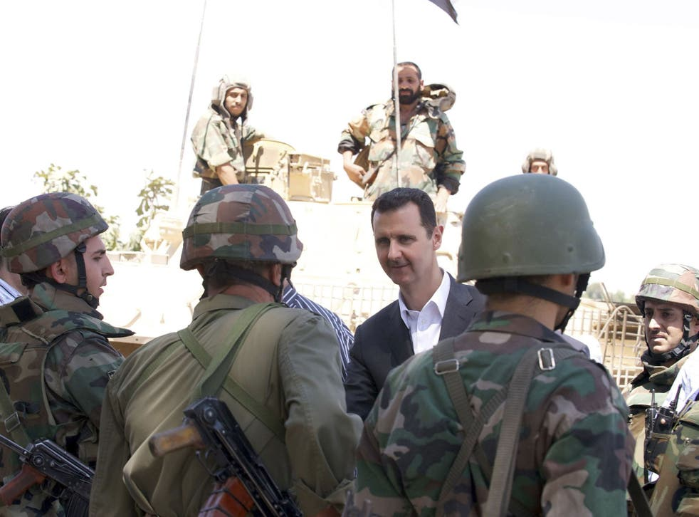 Syrian opposition activists claim President Bashar al-Assad's forces launched a chemical weapons attack in Damascus