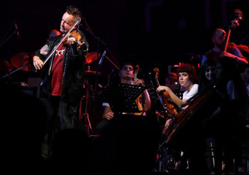 Palestinian orchestra takes centre stage at The Proms with Kennedy's