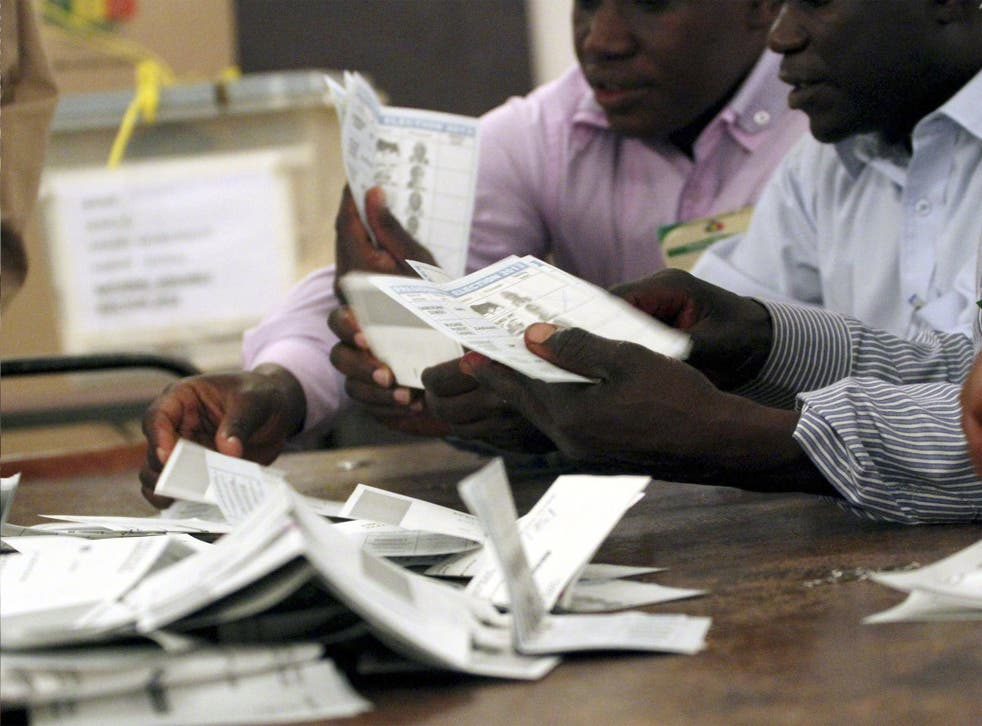 Votes counted in Harare last week appear to show a Mugabe victory