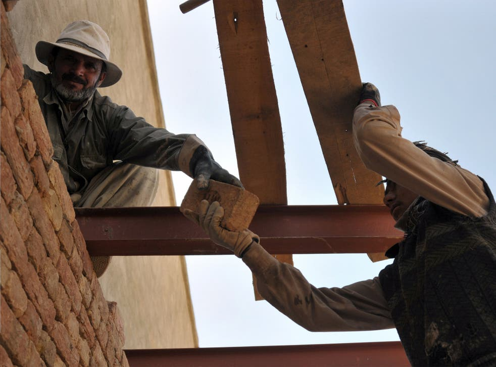 Contracts for Afghan reconstruction are not covered by Pentagon rules