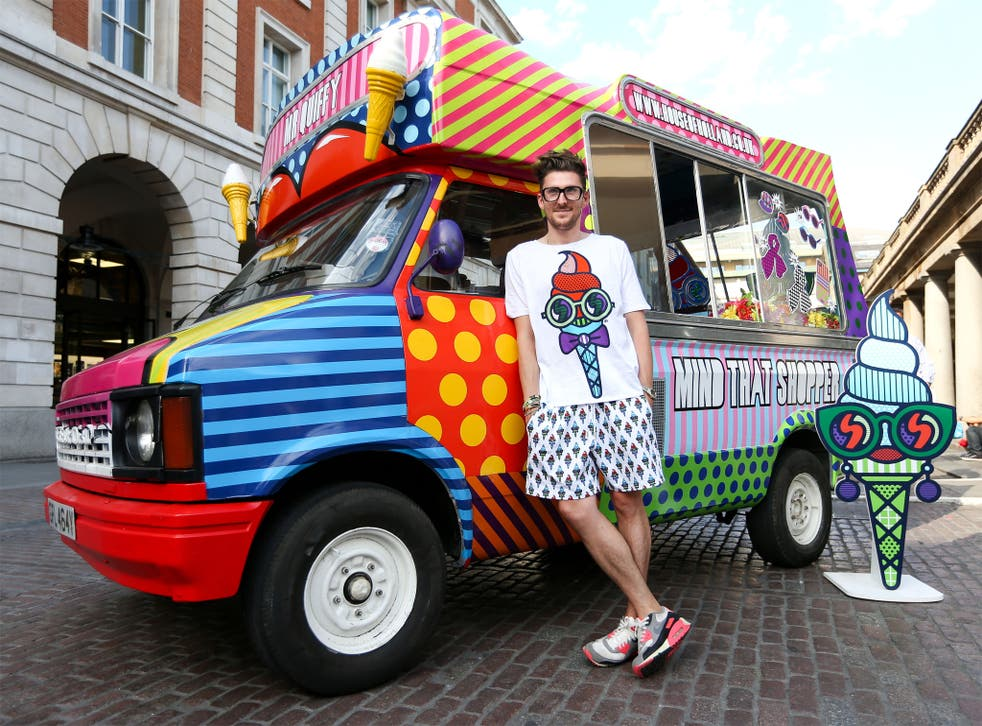 The fashion designer Henry Holland has transformed a former ice-cream van, into his new flagship store. Instead of cones and lollies he will sell House of Holland clothes