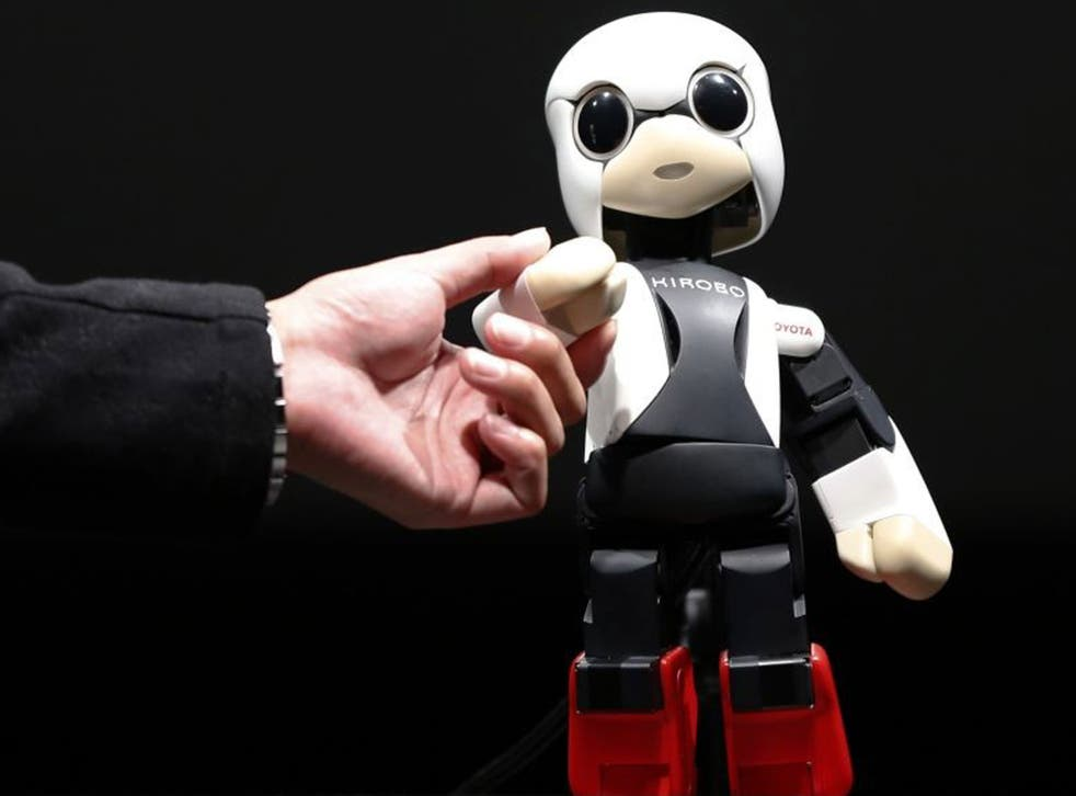 Kirobo is designed to provide companionship for a Japanese astronaut at the International Space Station