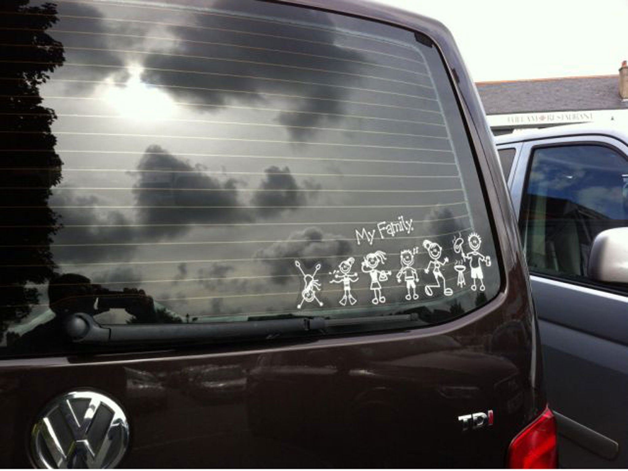 Unofficial and irreverent takes on car stickers | The Independent