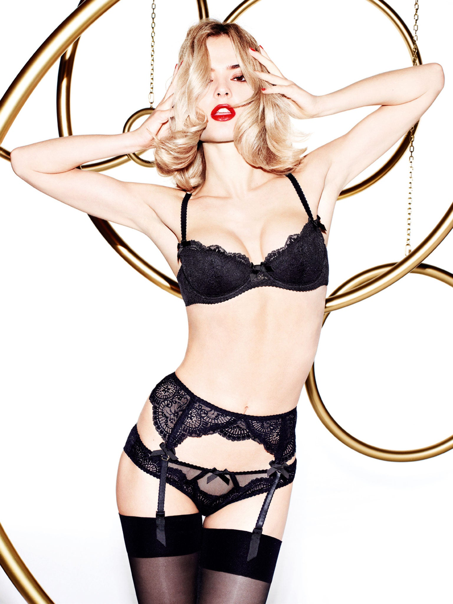 The Cruz lingerie control  Penelope and Monica direct promotional ... 40445fd3b
