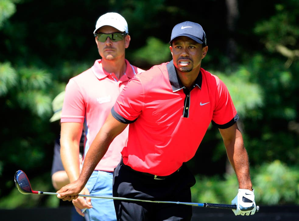 Tiger Woods had a steady start to his final round in Ohio