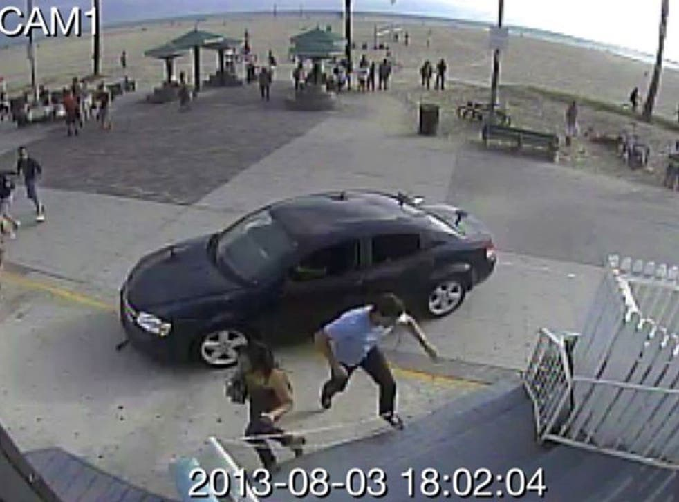A driver plowed into crowds at the Venice Beach boardwalk in a seemingly intentional hit-and-run that killed a woman and injured 11 others.