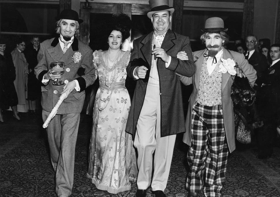 High Quality Tyrone Power, The American Film Actor With Julie Carter, Don Wilson And  Jimmie Star