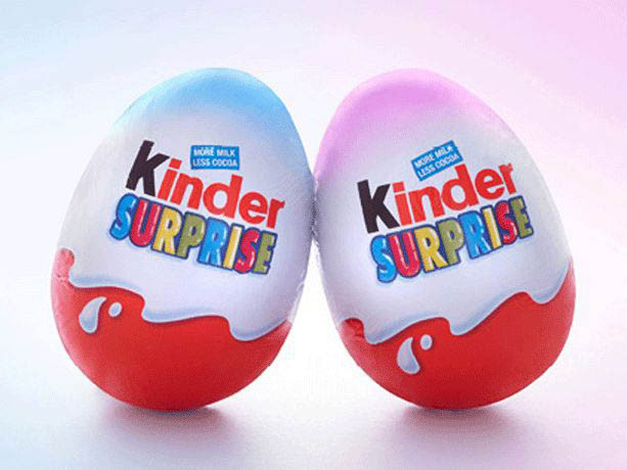 Kinder Surprise in stereotyping row over pink and blue eggs | The ...