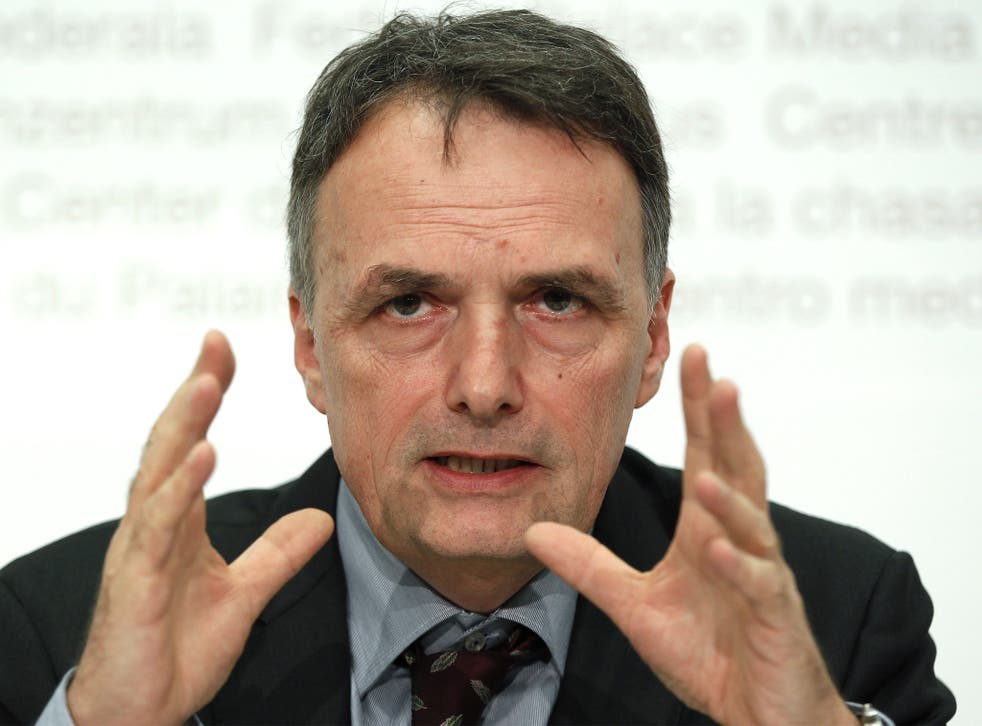 The head of the Immigration Office, Mario Gattiker, said rules were needed 'to ensure order'