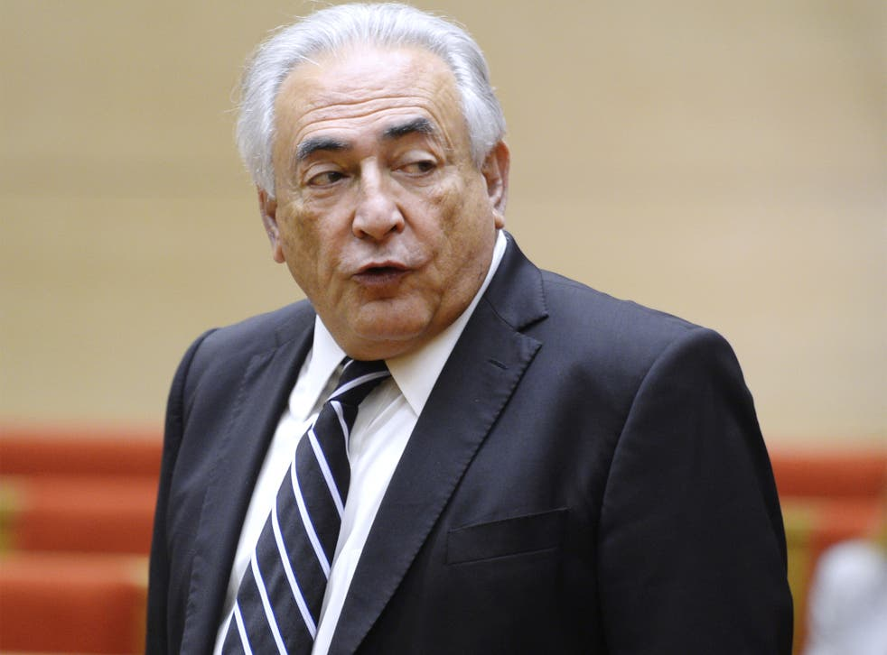 Strauss-Kahn has been accused of 'a material act of pimping'