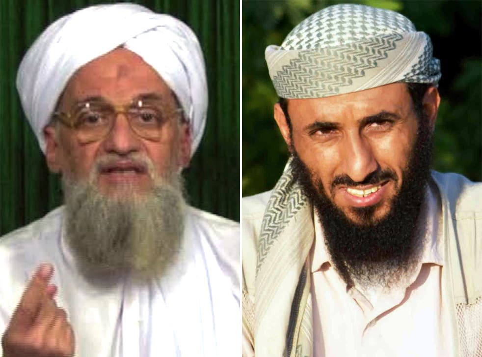 Ayman al-Zawahiri and his affiliate Nasser al-Wuhayshi