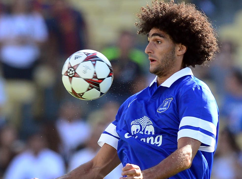 Marouane Fellaini is valued at £20m