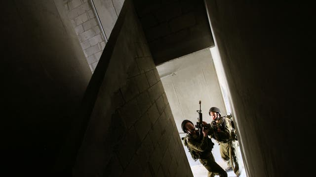 IDF soldiers take part in urban warfare training in southern Israel