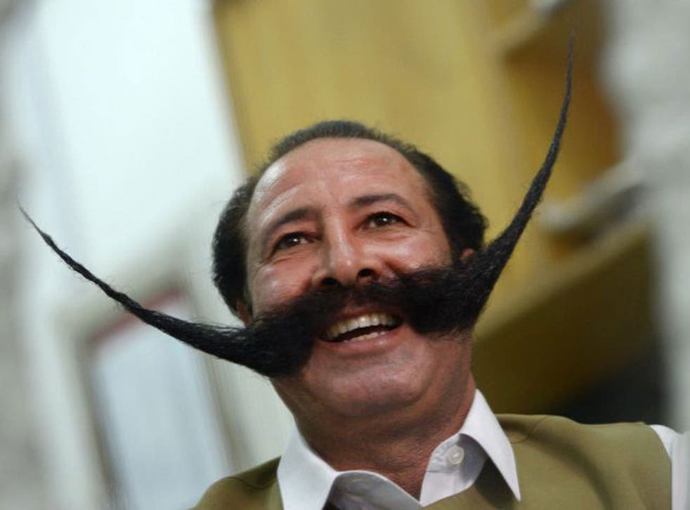Malik Amir Mohammad Khan Afridi has been kidnapped, threatened with death, forcibly displaced and lives apart from his family, all because of his enormous moustache