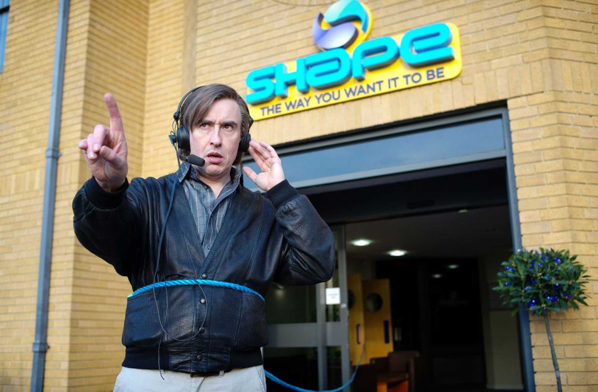 Alpha Blue Movie film review: alan partridge: alpha papa (15) | the independent