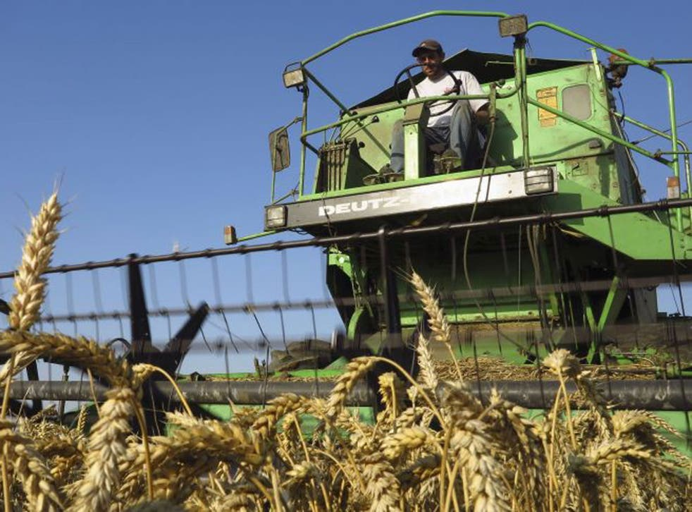 Farmland is increasingly bought as an investment, causing prices to rise sharply