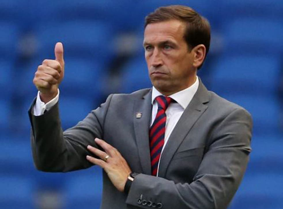Justin Edinburgh's side won 3-1 at Brighton in the Capital One Cup on Tuesday