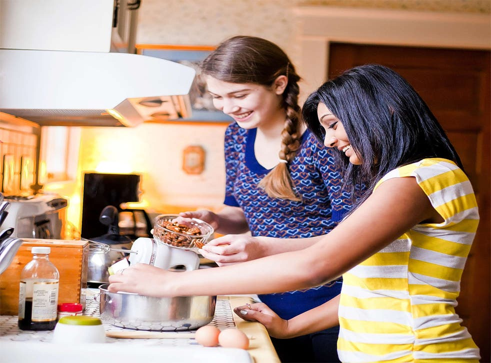 We're in this together: self-catered residences with a shared kitchen are a more affordable option for many entering higher education