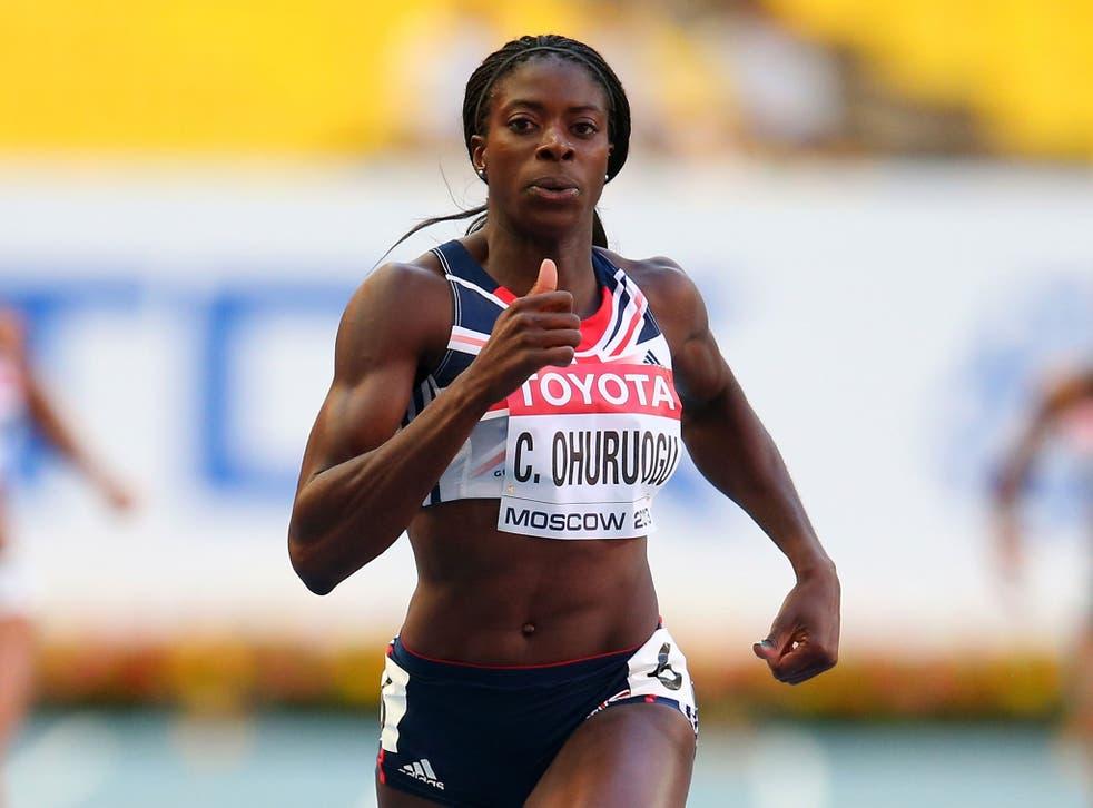 Christine Ohuruogu is pushing for a medal