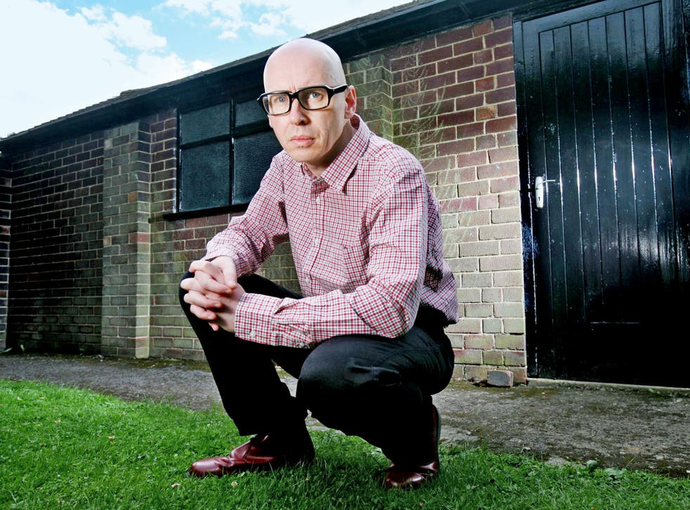 Author David Peace, whose latest novel has been described by one critic as a 'masterpiece'